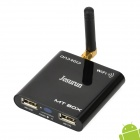Jesurun MT BOX Dual Core Android 4.1.1 TV Player w/ 1G RAM / 4G ROM - Black + Silver