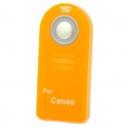 ML-C Wireless Shutter Release IR Remote Controller for Canon 7D / 5D2 / 300D / 650D + More - Orange