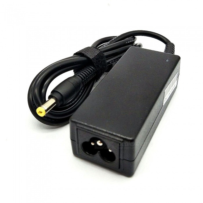 19V 5.5 x 1.7mm AC Power Adapter for HP Laptops - Black (100~240V)
