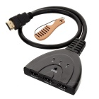 RM-301 HDMI 1.3 Switch w / Cabo - Preto (3-Em 1-Out)