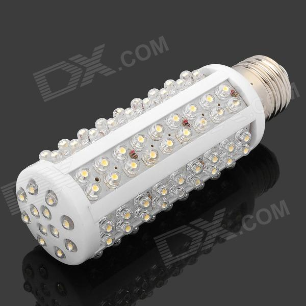 CM-120-12V-NBG E27 7W 850lm 3500K 120-LED Warm White Light Lamp - White (12V)