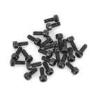 Screws Set for R/C Helicopter - Black (24PCS)