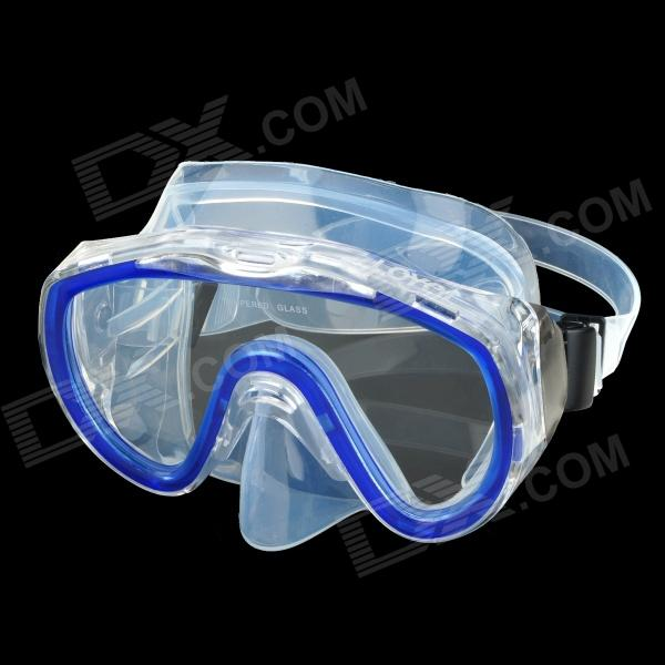 underwater goggles for glasses  LOYOL Tempered Glass Lens Diving / Swimming Glasses Goggles Mask ...