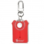 Ujuicer Mini Key Style Anti Lost Bluetooth Alert Device - Red + Silver Grey