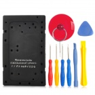 786 Repair Open Tools Set for Iphone 5 - Black + Yellow + Red