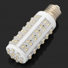 CM-84-12V-NBG E27 5W 600lm 3500K 84-LED Warm White Light Bulb - White (DC 12V)