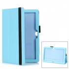 Multi-Function Protective PU Stand Case for Surface Windows RT - Light Blue