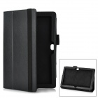 Multi-Function Protective PU Stand Case for Surface Windows RT - Black