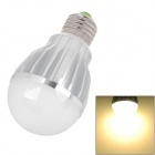 E27 5W 480lm 3500K 5-LED Warm White Light Bulb - White (AC 220V)