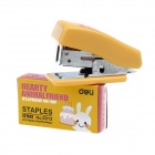 Mini Rabbit Stainless Steel Stapler + Staples Set - Yellow