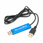 MID WIN8 MI A80 USB Sharing Cable Between Computer and Win8 Tablet PC - Blue