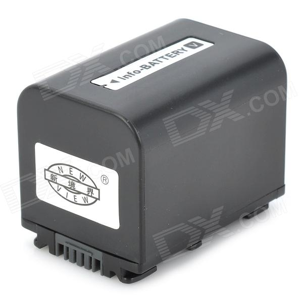 New-View NP-FV70 2500mAh Camcorder Battery for Sony HDR-XR / HDR-CX / HDR-HC Series + More - Black зарядное устройство для фотокамеры oem bc sony np fv100 dcr sr68 hdr xr350e cargador dcr dvd103 5 bc trv