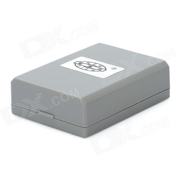 цены New-View LP-E5 Digital Camera Battery for Canon EOS 500D / EOS 450D / EOS Kiss X3 - Grey