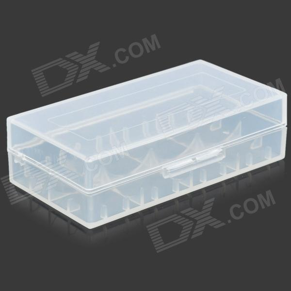 Protective PP Storage Case Box for 18650 / 17670 / 16340 / CR2 Battery - Transparent kz headset storage box suitable for original headphones as gift to the customer