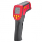 "UYIGAO UA380 1.5"" LCD Digital Infrared Thermometer - Red + Dark Gray (-32~380'C / 1 x 6F22)"