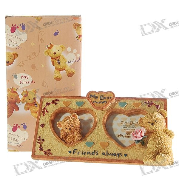 "Valentine's Day Gift - Lovely Bears ""My Bear"" Picture Frame"