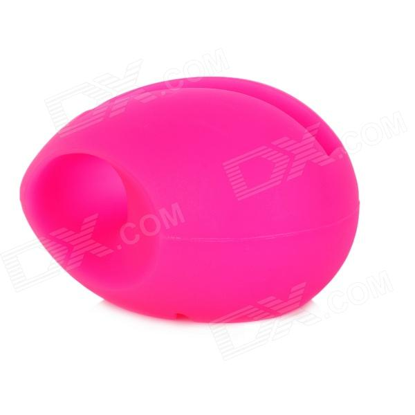 Cute Egg Style Silicone Speaker Stand for Iphone 4 / 4S - Deep Pink ножницы для живой изгороди gardena easycut 450 50