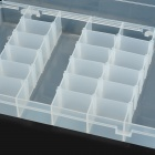 Pro'skit 103-132D 36-Component Storage Box Electronic Components or Small Gadgets - Transparent