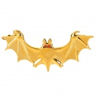 3D Bat-Legierung Auto Dekorieren Sticker - Golden