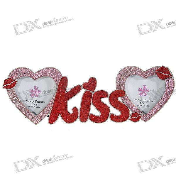 Valentine's Day Gift - Sweet Kiss Hearts Picture Frame