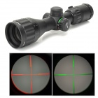 3~9X Magnification RGB Light Mil-dot Crosshair Gun Scope w/ Sunshade - Black (32mm)