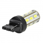 YT1311286 T20 8W 420lm 6500K 18 SMD 5730 LED White Light Car Bulb - Yellow + Black + White