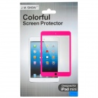 Protective PET Clear Screen Guard for Ipad MINI - Blue + Transparent
