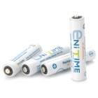 Gsyuasa Enitime Pre-Charged 750mAh 1.2V Rechargeable NiMH AAA Batteries (4-Pack)