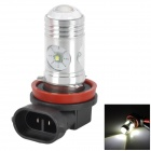 H111412685 H1112W 650lm 6500K White Light Car Foglight Bulb - Black + Silver + Red (DC 12~24V)