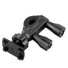 Universal U Style Motorcycle Bicycle Mount Base for Phone / GPS / Interphone - Black