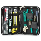 Pro'skit PK-2076B Home Basic Tool Kit - Dark Green (25 PCS)