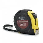 Pro'sKit DK-2042 Magnetic Anti-Slip Measurement Tape - Black + Yellow (7.5m)