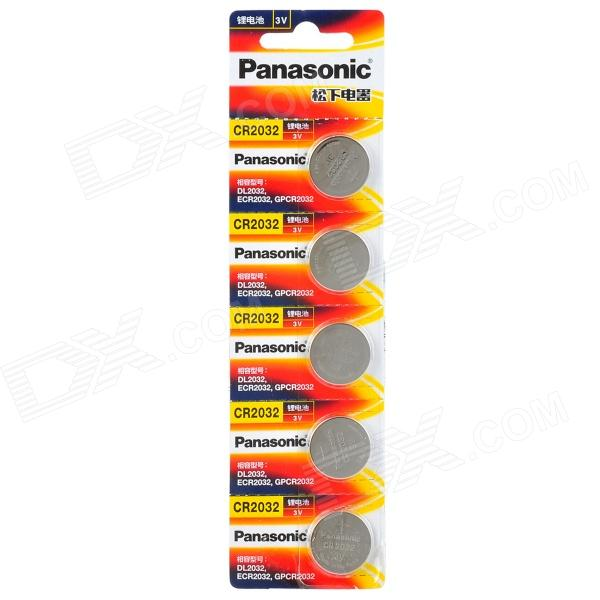 все цены на Panasonic CR2032 Button Battery - Silver (5 PCS) онлайн