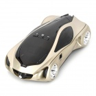 "ZYQ-1 1.2"" LCD 360 Degrees Digital Radar Detector - Pearl Beige + Black + Silver"