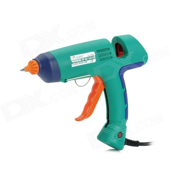Pro'sKit GK-389H 100W Professional Hot Melting Glue Gun - Blue + Green + Orange 2014 rushed ems dhl fast shipping leister 380 440v 5 6 7kw heat element for for hot air plastic gun welding accessories