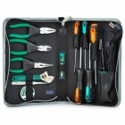 Pro'skit PK-2086B Basic Electrical Maintenance Tool Kit - Green + Light Grey