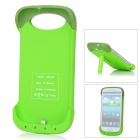 3200mAh Rechargeable External Battery Back Case for Samsung Galaxy SIII i9300 - Green