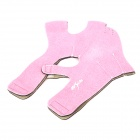 Elastic Fiber Facelift Slim Beauty Facemask - Pink (Free Size)