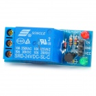 FC-16-A 1-Channel 24V Relay Module - Blue
