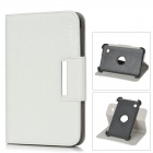 ENKAY ENK-7021 Protective PU Leather Case w/ Smart Cover for 7'' Samsung Tablet PC - White