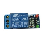 FC-16-B 1-Channel 24V Relay Module - Blue