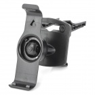 Engineering Plastic Rotational GPS Holder for Garmin Nuvi 2400 2450 2460 Series 2415LT - Black