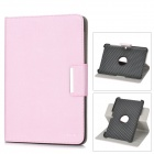 ENKAY ENK-7017 Protective PU Leather Case w/ Smart Cover for 10.1'' Samsung P5100 / P5110 - Pink