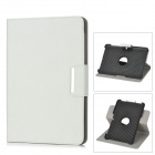 ENKAY ENK-7017 Protective PU Leather Case w/ Smart Cover for 10.1'' Samsung P5100 / P5110 - White