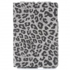 Ultra-Thin Leopard Style Protective PU Leather Case for Ipad MINI - Grey
