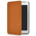 Protective PU Leather Cover Holder Case for Ipad MINI - Brown + Black