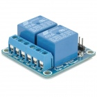 FC-16-F 2-Channel 24V Relay Module - Blue