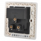 Universal USB Charging Wall Socket - White (110~250V)