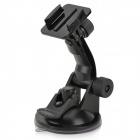 RI-006 Outdoor Car Camera Fixing Holder w/ Suction Cup for Gopro / SupTig / SJ4000 - Black