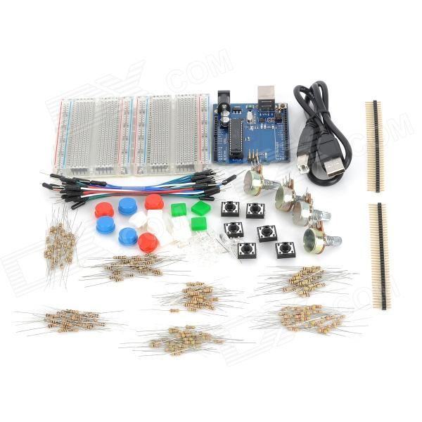 X1301 Uno R3 Starter Singlechip Set Kit - Multicolored